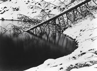 Antonio Biagiotti - Winter on the Lake Photographic Print on Board, Photography
