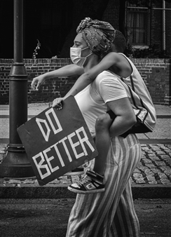 Ada Luisa Trillo - Do Better Mother and Child Archival Pigment Print, Photography