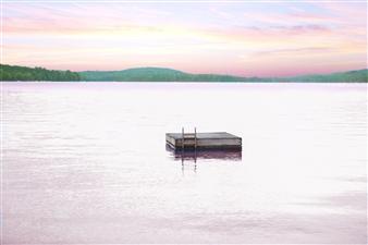 Noelle Kristine - Sebec Lake Photograph on Hahnemühle Paper, Photography