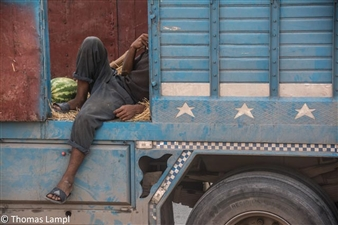 Thomas Lampl - The Melon Seller Archival Pigment Print, Photography