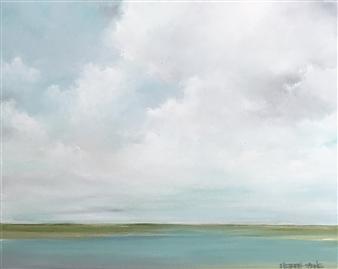 Elizabeth Sabine - Seascape No. 291 Oil on Canvas, Paintings