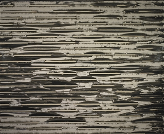 Iswanto Soerjanto - Line Meditations #6 Chemigram on Silver Gelatin Paper, Photography