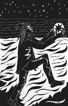 Marliese Scheller - Danse Avec Les Astres Ink on Paper, Prints