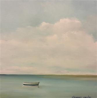 Elizabeth Sabine - Drifting Oil on Canvas, Paintings