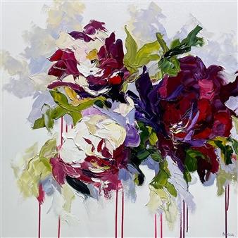 Rachelle Brady - Follow Your Heart Oil on Canvas, Paintings