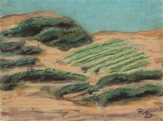 Raul Mariaca Dalence - Napa 1 Pastel on Canvas, Paintings