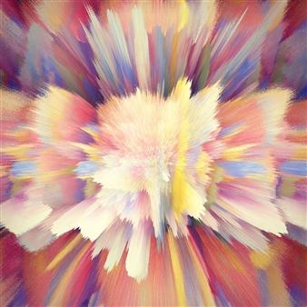 Alex Osborne - Butterfly 3D Archival Digital Print on Panel, Digital Art