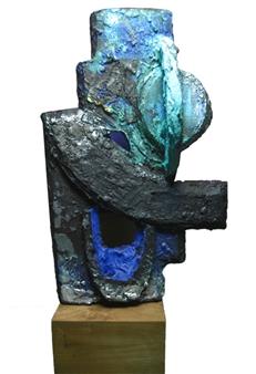 Daniel L. Randolph - Uranus in Conjunction Marble, Sculpture