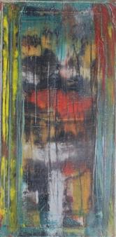 François-Jérôme Bringuier - Mirage in the Desert Oil on Canvas, Paintings