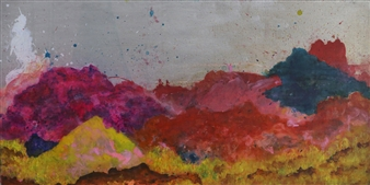 Eric Richter - Summer's a Trouble Maker Acrylic & Mixed Media on Canvas, Mixed Media