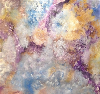 Joe Koury - Divine Nature Acrylic on Canvas, Paintings