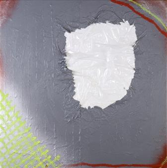 Joseph Masur - Through The Looking Glass Acrylic & Pastel on Canvas, Paintings