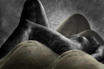 Benny De Grove - Bodyscape Photograph on Hahnemühle Paper, Photography