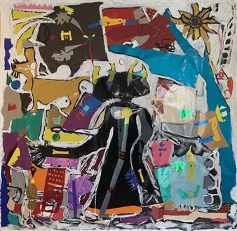 Hap Garrett - Jake Acrylic on Vinyl Signage, Other Category
