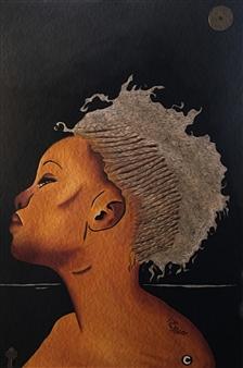 Sydnei SmithJordan - Egypt Acrylic & Oil on Canvas, Paintings
