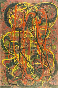 David Syre - Go Fast Acrylic on Canvas, Paintings