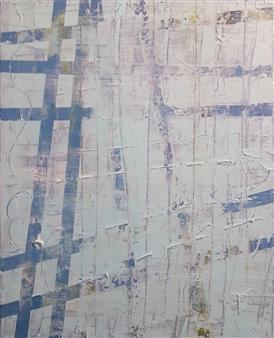 Claudia Mini - Swimming Pool Acrylic on Canvas, Paintings
