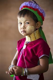 Safaa Kagan - Kayan Girl Archival Pigment Print, Photography