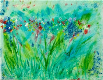 Jodi DeCrenza - Summer Breeze Oil on Canvas, Paintings