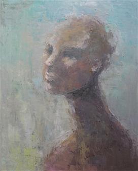 Becky Sungja Kim - Tolerance Oil on Linen, Paintings