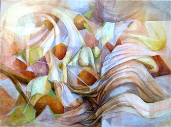 Maggie G. Moran - Organic Materials Oil on Canvas, Paintings