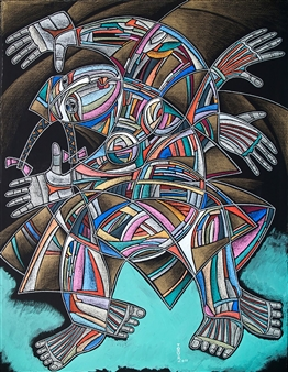 Alexander Ossipov (TOTUR) - Dance Mixed Media on Paper, Mixed Media