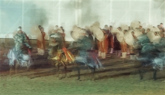 Danny Johananoff - Celebration Archival Pigment Print on Plexiglass, Photography