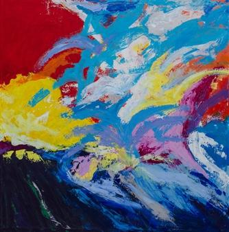 Doofan Kwaghhool - Unselfish Love Acrylic on Canvas, Paintings