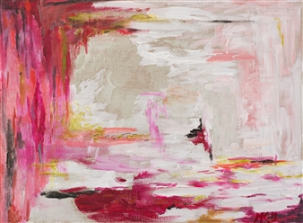 Marion Kunstenaar - Untitled 5 Acrylic on Canvas, Paintings