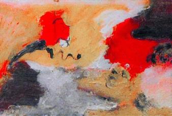 Clea von Döhren - A New Beginning Acrylic & Mixed Media on Canvas, Mixed Media
