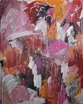 Laura Pretto Vargas - Untitled I Acrylic on Canvas, Paintings