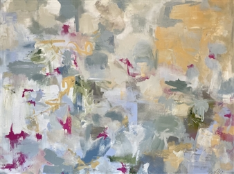Kate Robinson - Spring is Coming Acrylic on Canvas, Paintings