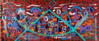 Carlos E. Porras M. - Giratorio Acrylic on Canvas, Paintings