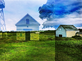 markpizzaArt - Lost Houses Archival Pigment Print on Aluminum, Photography