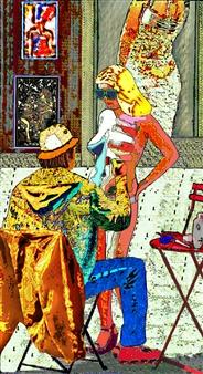Sergey Kir - My Studio Digital Print on Canvas, Prints
