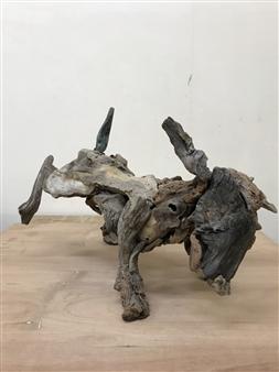 Akemi Fujita - At Work Wood, Sculpture