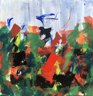 KEO - Silva Chorus Acrylic & Ink on Canvas, Paintings
