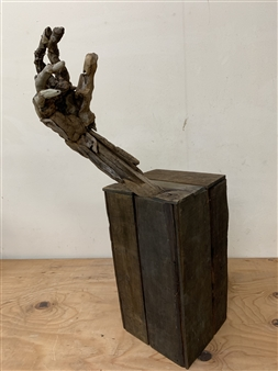 Akemi Fujita - Hello Wood, Sculpture