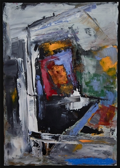 Ludwig Mannhalter - No. 10 Oil on Canvas, Paintings