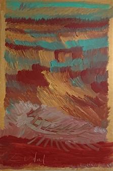 Eduardo Vidal - Flying-Seas Acrylic & Airbrush on Linen, Paintings