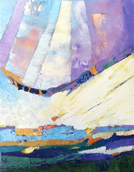 Monika Gloviczki - Extraterrestrials Oil on Canvas, Paintings