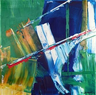 Marianne Durach - 38/05 T Acrylic on Canvas, Paintings