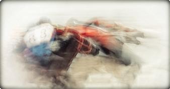 Danny Johananoff - Horse Power Photograph on Plexiglass, Photography