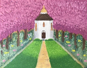 Svetlana Nelson - Church of God Oil on Canvas, Paintings