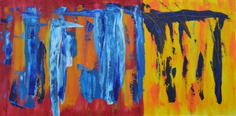 Carlos E. Porras M. - Nikus Nikus I Acrylic on Canvas, Paintings