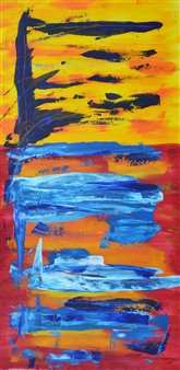 Carlos E. Porras M. - Nikus Nikus Acrylic on Canvas, Paintings