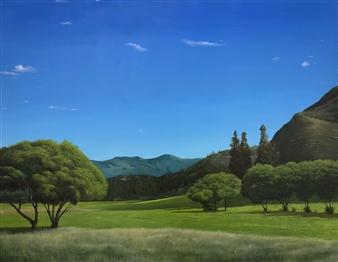 Mauricio Valdiviezo - Valle Oil on Canvas, Paintings