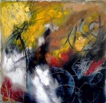 Luisa Vicente Isola - Sin Titulo Vll Acrylic on Canvas, Paintings