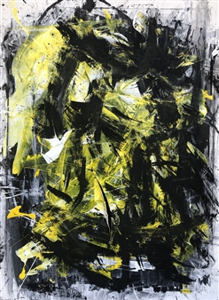 KEO - Spazio Vitale Acrylic & Ink on Canvas, Paintings