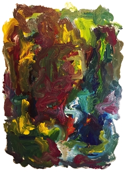 Susan Marx - Color At Night Acrylic on Canvas, Paintings